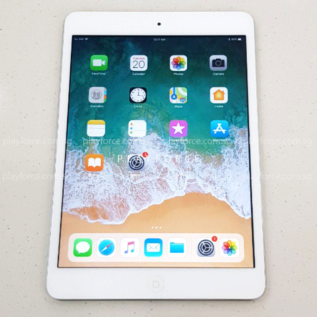 iPad Mini 1 (32GB, Cellular, Silver)