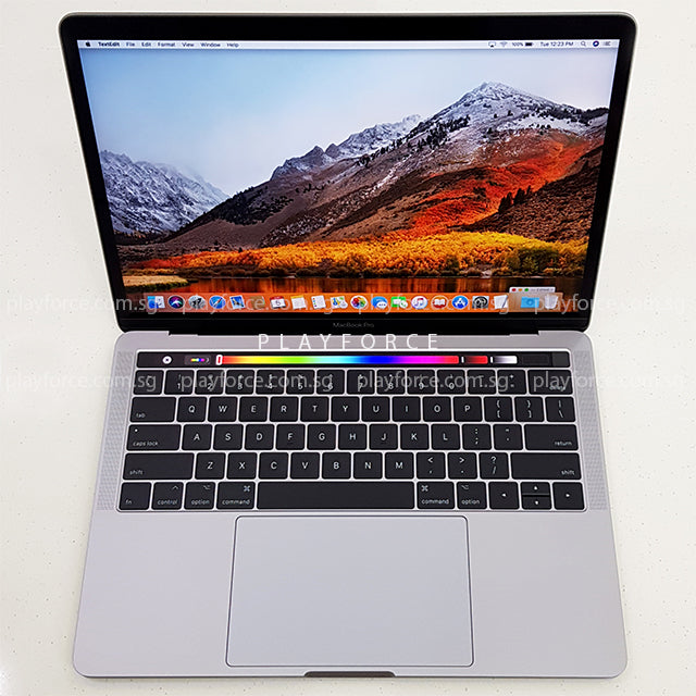 MacBook Pro 2017 (13-inch Touch Bar Touch ID, 512GB, Space Grey)