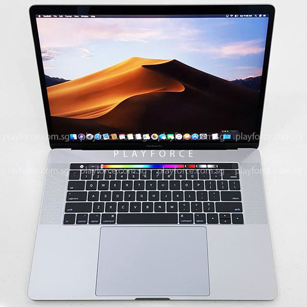 Macbook Pro 2017 (15-inch Touch Bar, 512GB, Space)(AppleCare)