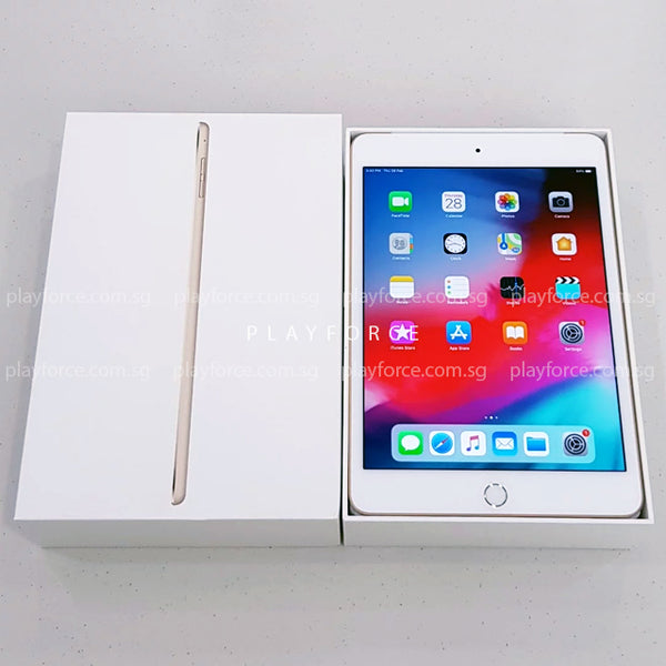 iPad Mini 4 (128GB, Cellular, Gold)