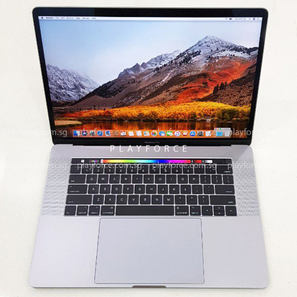 MacBook Pro 2017 (15-inch Touch Bar Touch ID, 512GB, Space)