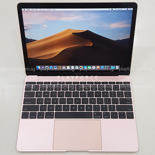 MacBook 2016 (12-inch, 256GB, Rose Gold)