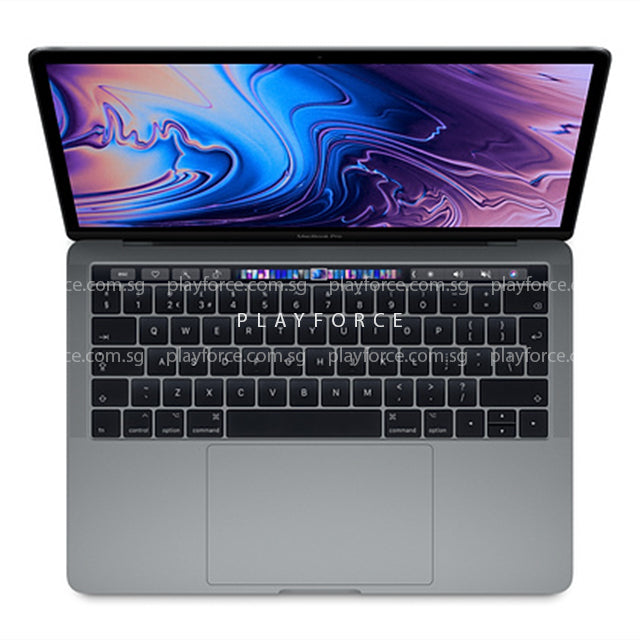 Macbook Pro 2018 (13-inch Touch Bar, 512GB, Space)(Brand New+Apple Care)