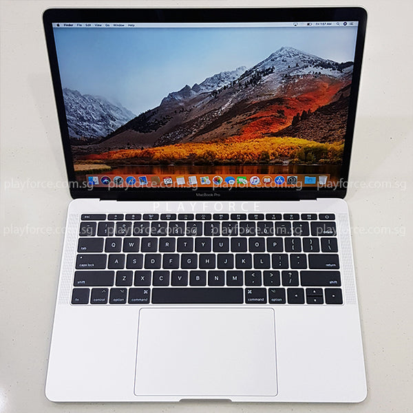 Macbook Pro 2017 (13-inch, 16GB 256GB, Silver)(Upgraded)