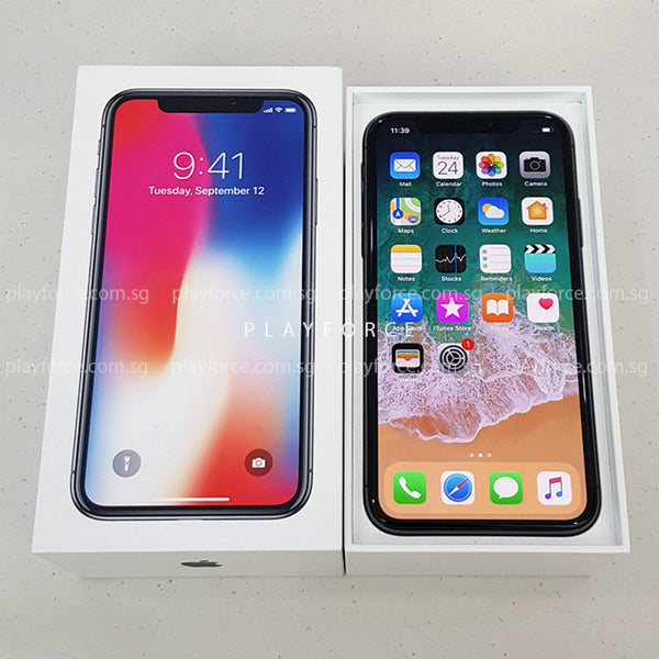 iPhone X 256GB Space Grey