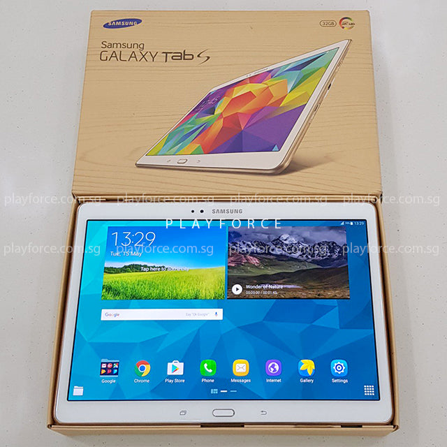 Tab S 10.5 (32GB, Cellular, White)