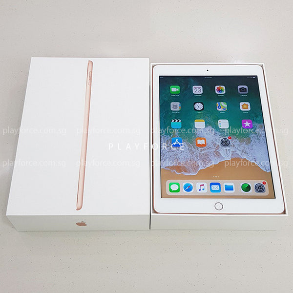 iPad 6th Gen (32GB, Cellular, Gold)