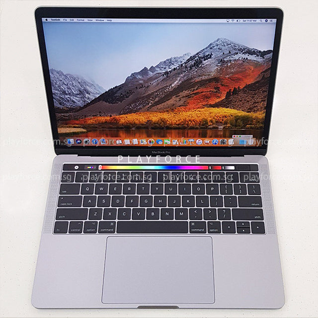 MacBook Pro 2017 (13-inch Touch Bar Touch ID, 3.5GHz 16GB 1TB, Space)(Max Specs)