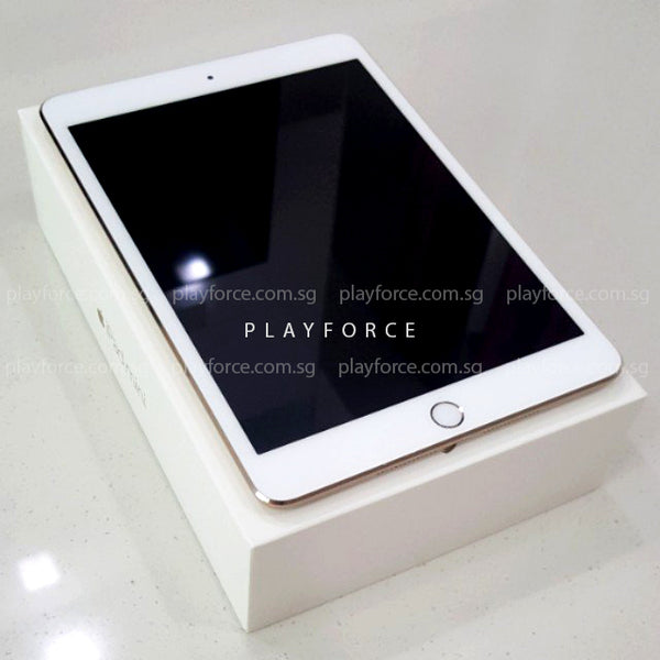 iPad Mini 3 128GB WiFi Gold