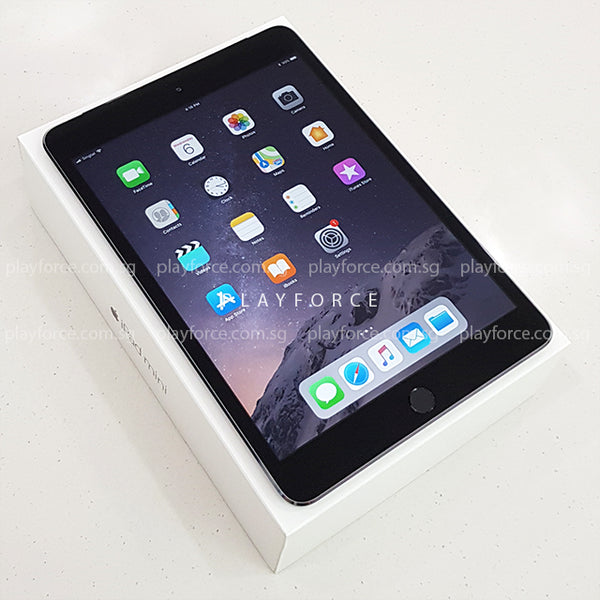 iPad Mini 3 (16GB, Cellular, Space Grey)