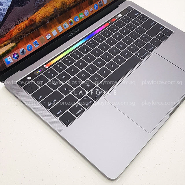 MacBook Pro 2017 (13-inch Touch Bar, 256GB, Space) – Playforce
