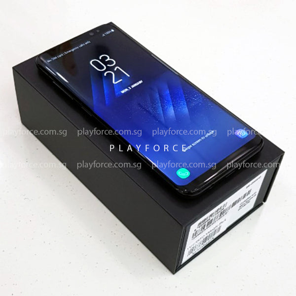 S8 (64GB, Midnight Black)