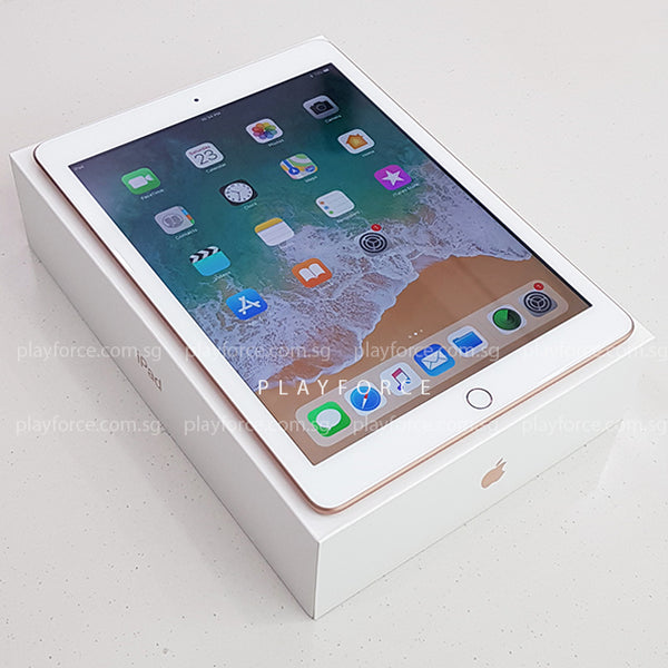 iPad 6th Gen 9.7 (128GB, WiFi, Gold)