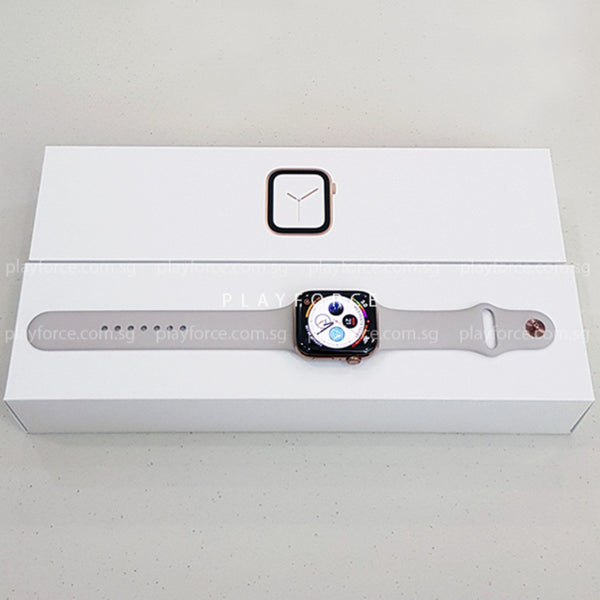 Apple Watch (Series 4, 44mm, Stainless Steel, GPS + Cellular)
