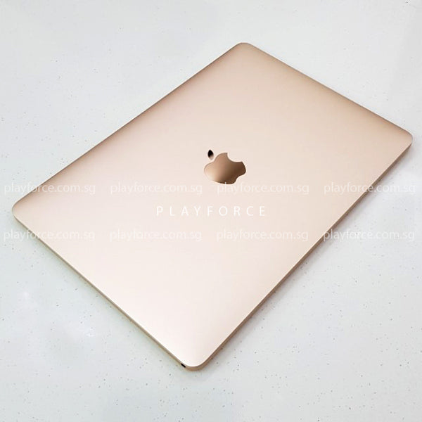 MacBook 2017, 12-Inch, 256GB SSD, Gold