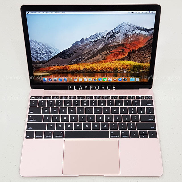 MacBook 2016 (12-inch, 256GB, Pink)(Discounted)