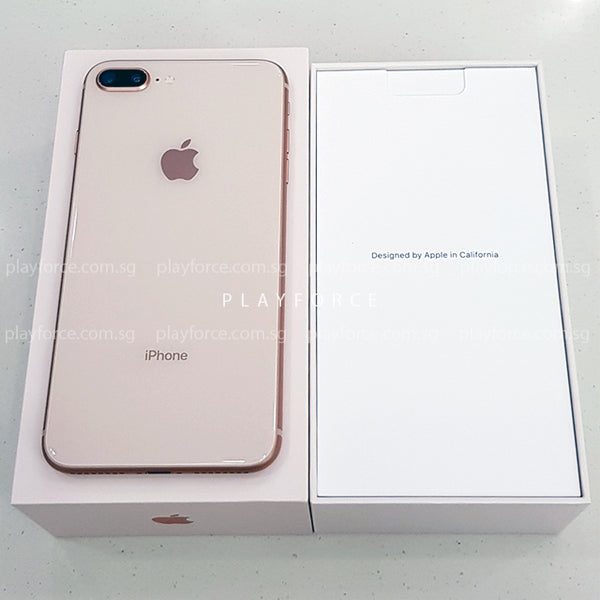 iPhone 8 Plus (64GB, Gold)(Apple Care)