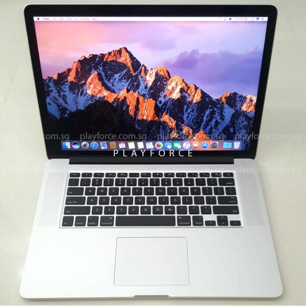 MacBook Pro Late 2013, 15-Inch Retina, i7, 16GB, 500GB SSD