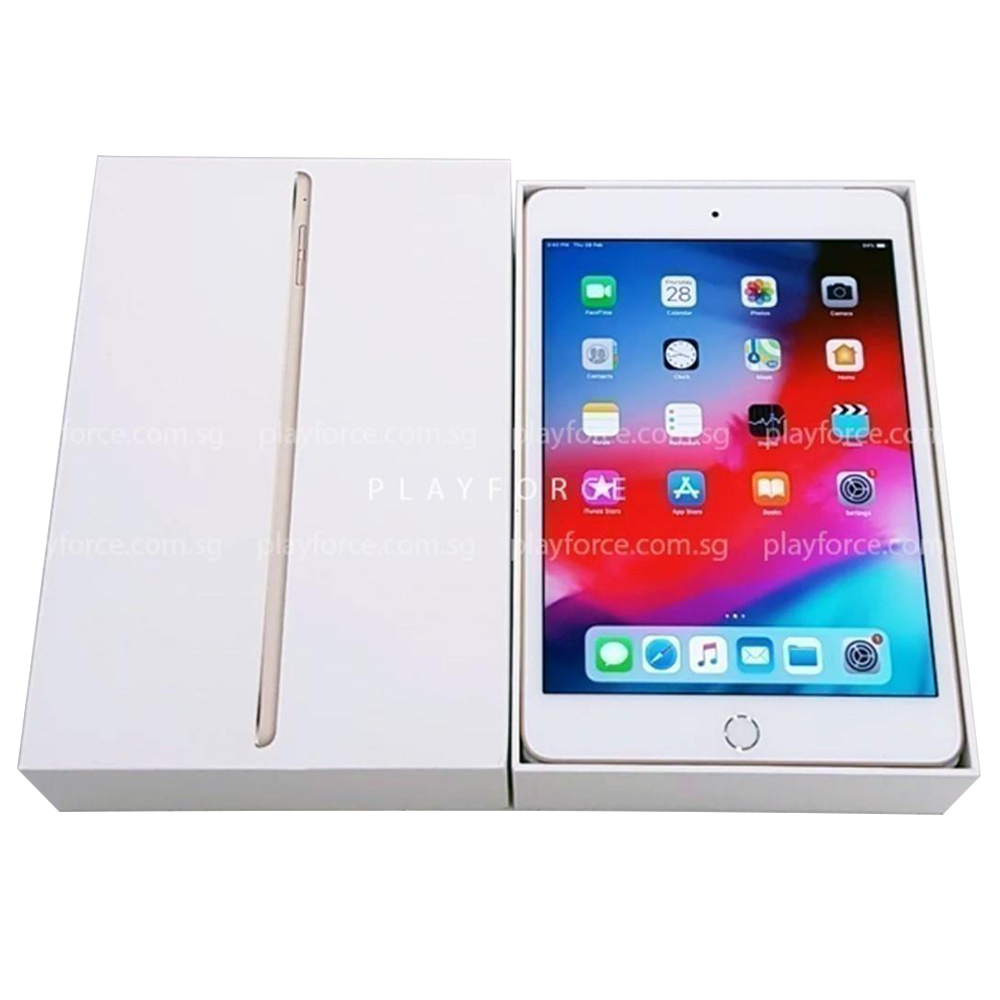 iPad Mini 4 (128GB, Wi-Fi, Gold)
