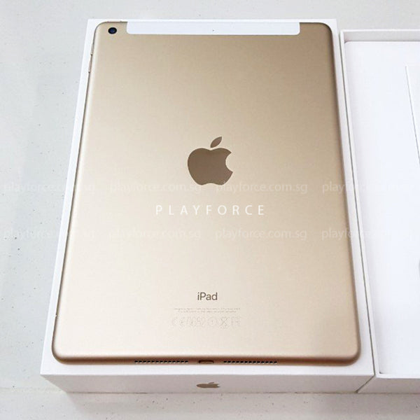 iPad 5th 9.7 128GB Cellular Gold