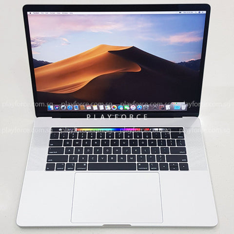 Macbook Pro 2018 (15-inch Touch Bar, 256GB, Silver)