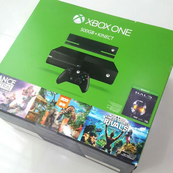XBOX One 500GB + Kinect.
