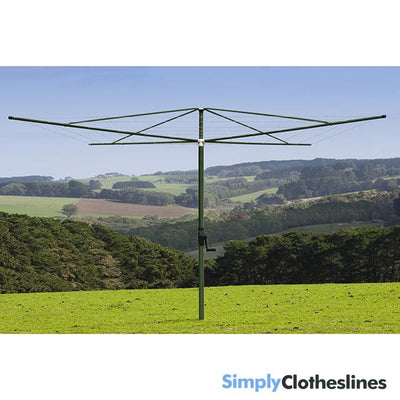 Austral Elite 4 Rotary Clothes Hoist Clothesline
