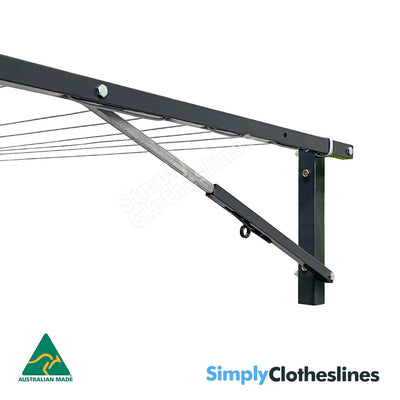 Air Dry 15 Folding Wall Mounted Clothesline at Simply Clotheslines