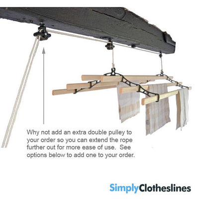 Kitchen Maid Six lath Supreme Ceiling Airer Clothesline