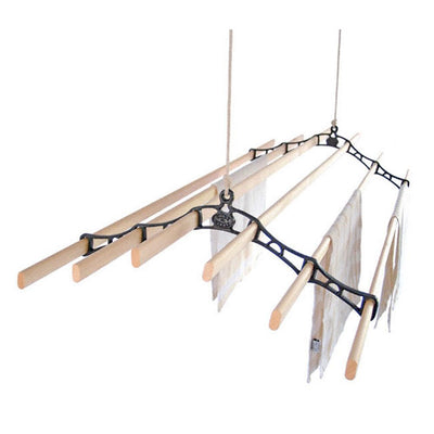 Kitchen Maid Six Lath Supreme Ceiling Airer Clothesline at Simply Clotheslines