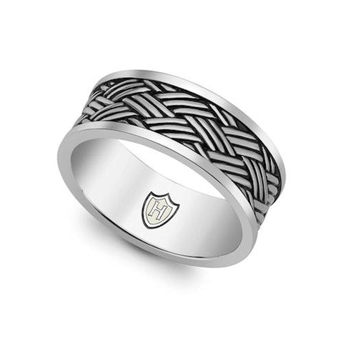 Hoxton Sterling Silver Ring - Theodore Designs