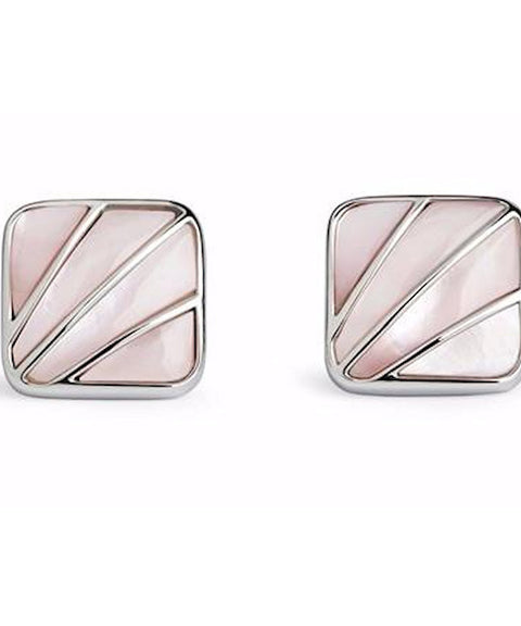 Simon Carter Deco Fan Pink Mother Of Pearl Cufflinks Product - Theodore Designs