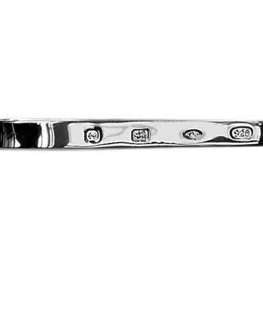 Sterling Silver Hall Marked Tie Bars - Theodore Designs