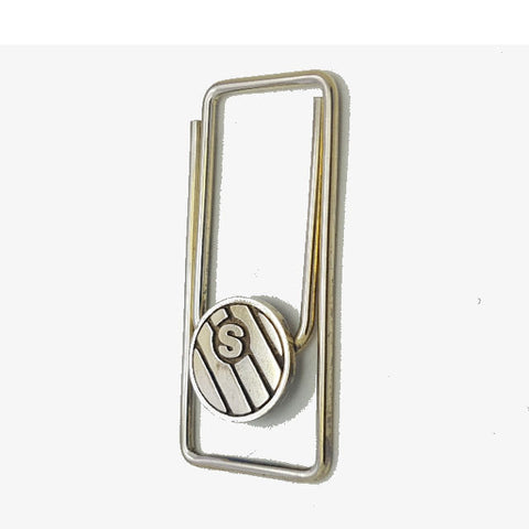 Theodore Sterling Silver Paperclip Money Clip - Theodore Designs