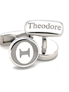 Theodore Collection Sterling Silver Cufflinks - Theodore Designs