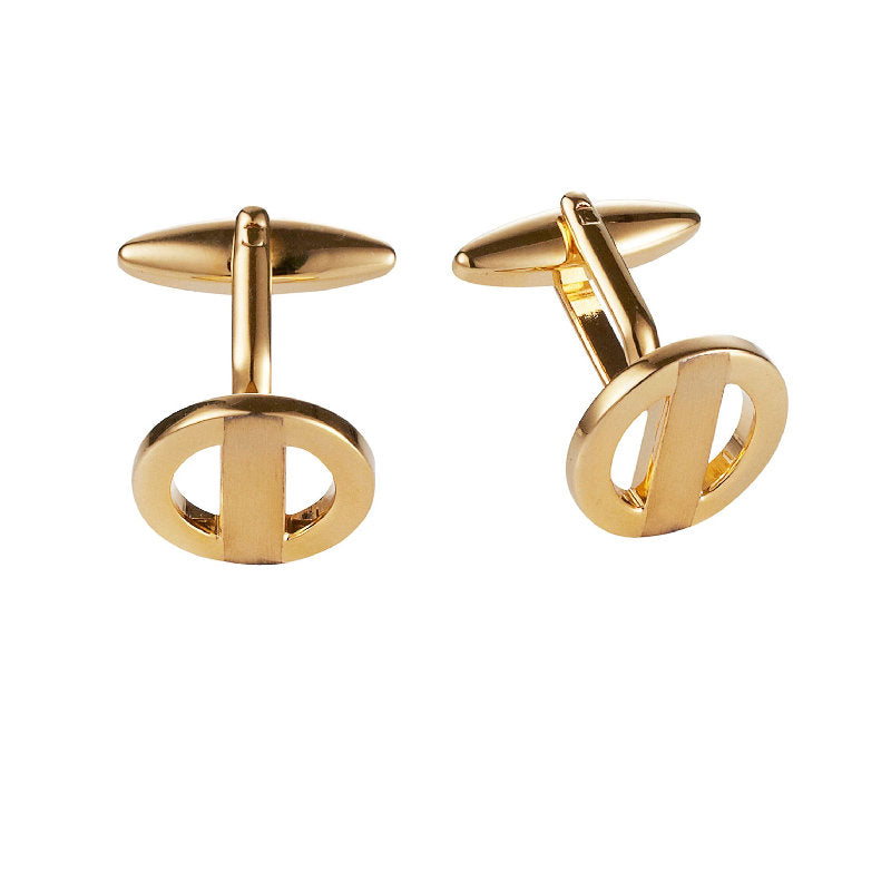 Cudworth  Gold plated Cufflinks - Theodore Designs