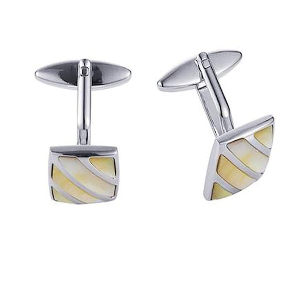 Mother of Pearl Cufflinks - Theodore Designs