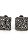 Theodore Sterling Silver Cubic Zirconia Cufflinks - Theodore Designs