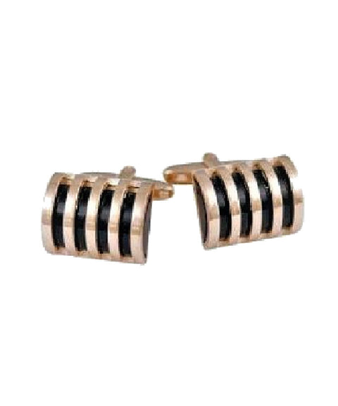 Gold Plated Dome Cufflinks