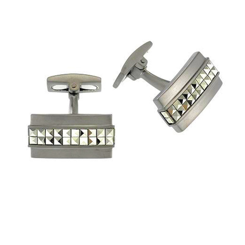 Sterling Silver and Marcasites Cufflinks - Theodore Designs
