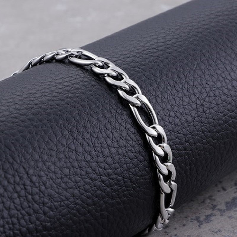 Theodore Stainless Steel Heavy Curb Link Chain Necklace - Theodore Designs
