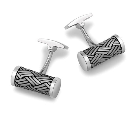Hoxton Sterling Silver Cufflinks - Theodore Designs