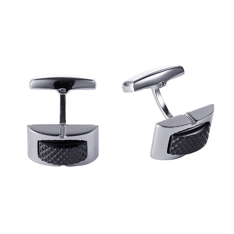 Cudworth Stainless Steel Cufflinks - Theodore Designs