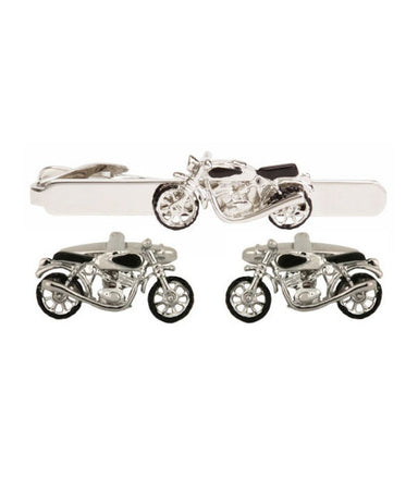 Motor Bike Set Cufflinks - Theodore Designs