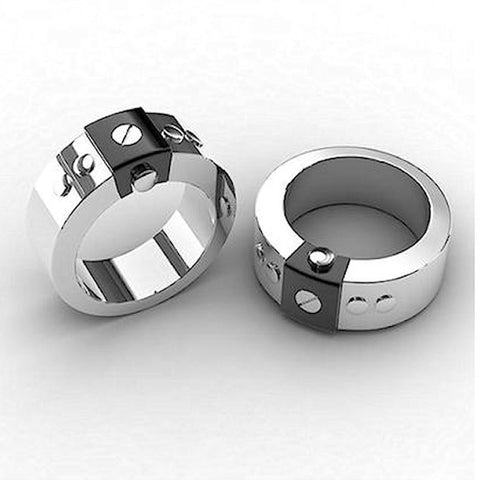 Stainless Steel IP Black Ring - Theodore Designs