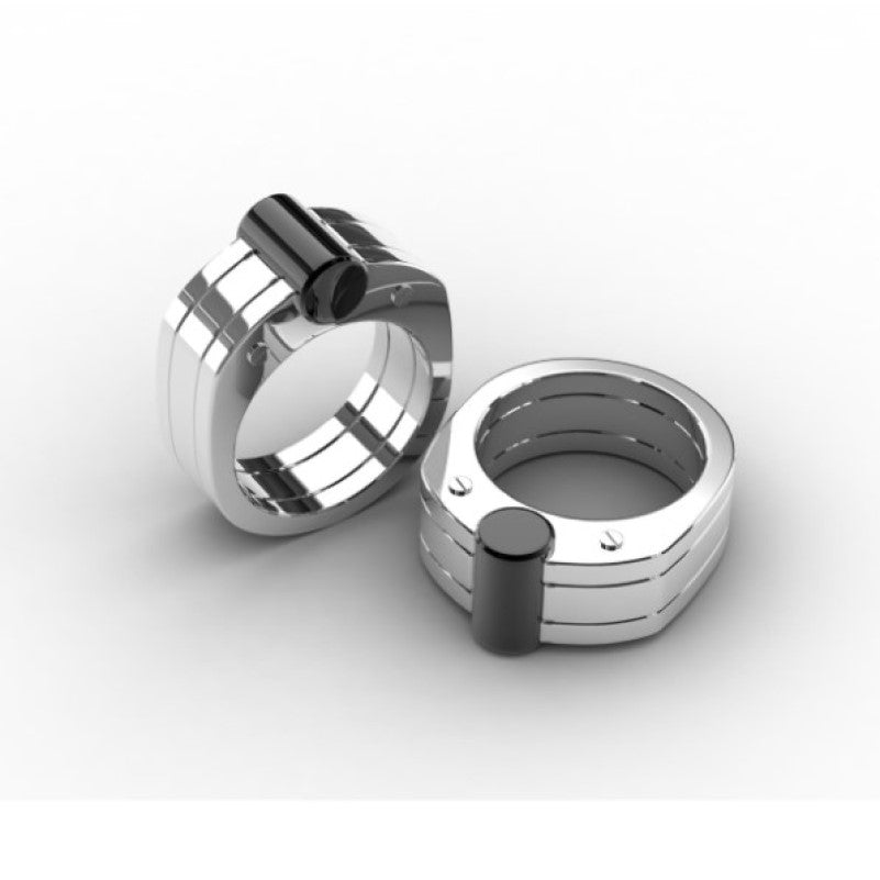 Stainless Steel and Black Ion Plated Ring - Theodore Designs
