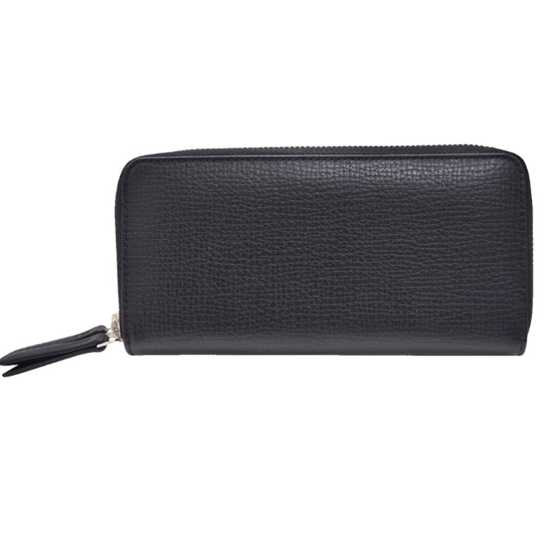 Women's Genuine Cross  Zip Around Wallet - Theodore Designs