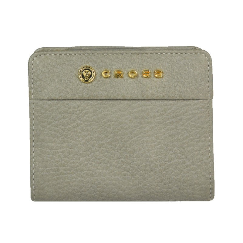 Women's Small Flap Zip Wallet With ID Window - Theodore Designs