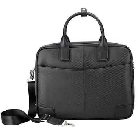 Cudworth Carbon Fibre Leather Briefcase Bag - Theodore Designs