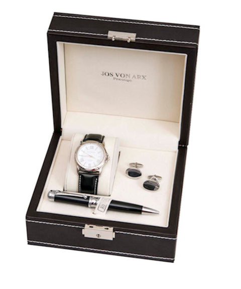 Jos Von Arx Watch Cufflinks and Pen Set - Theodore Designs